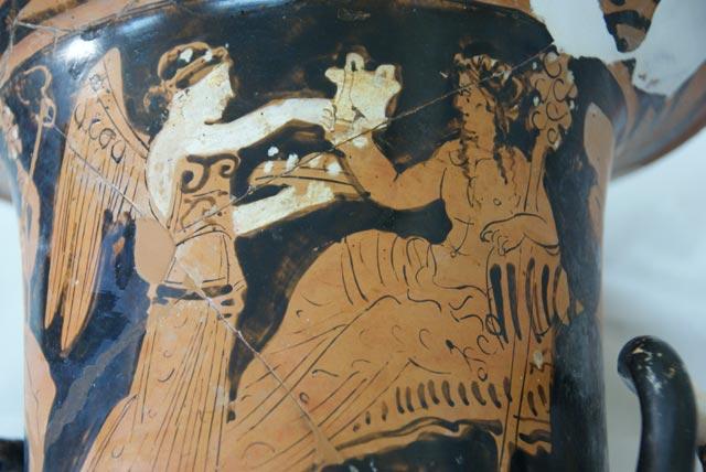 Ο κρατήρας του Διονύσου και της Νίκης στο Αθέατο Μουσείο