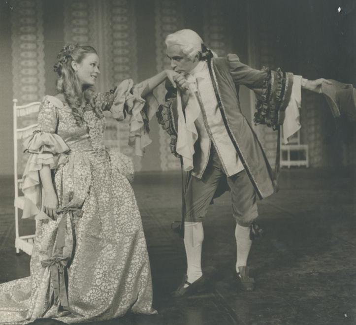 """""""Ο Αρχοντοχωριάτης"""" στο Εθνικό Θέατρο το 1979"""
