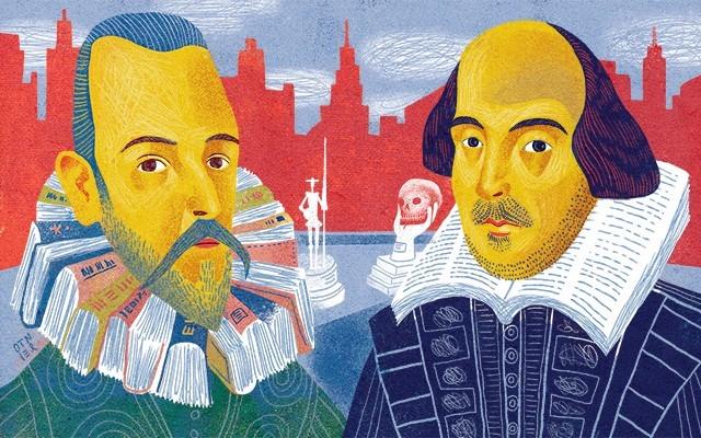 """Εταιρεία Συγγραφέων : """"Μιγκέλ ντε Θερβάντες και Ουίλλιαμ Σαίξπηρ"""""""