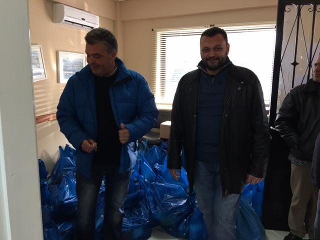 Διανομή τροφίμων σε 197 οικογένειες από το Κοινωνικό Παντοπωλείο του Δήμου Σαρωνικού